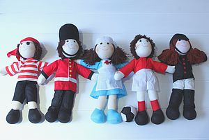 Fairtrade Character Rag Doll - toys & games