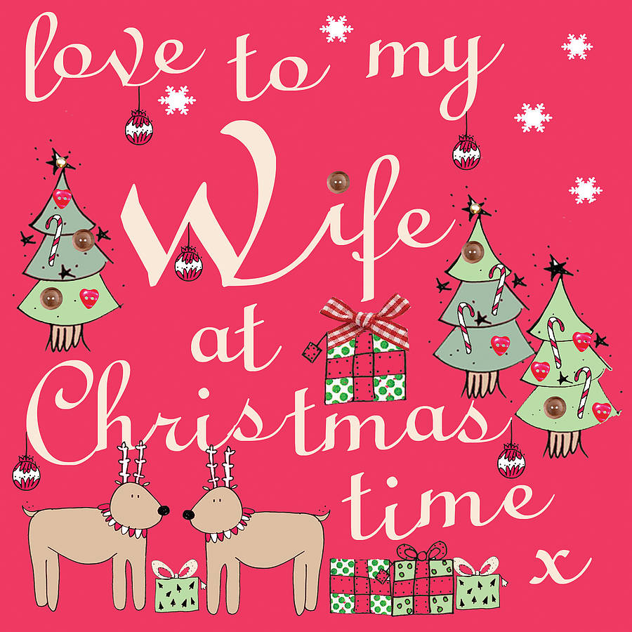 Christmas greetings for wife wallpapers hd quality christmas greetings for wife kristyandbryce Choice Image
