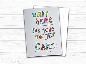Cake Greetings Card