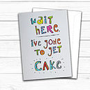 Cake Greetings Card