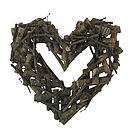 Birch Heart Wreath