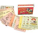 Vintage Nursery Rhyme Snap Playing Cards