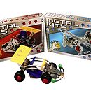 70 Piece Metal Transport Construction Kits