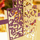 Laser Cut Present Christmas Card