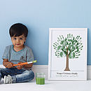 Personalised Hand Print Tree Voucher