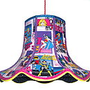 Super Girl Patchwork Lampshade
