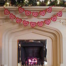 Red Felt 'Merry Christmas' Banner
