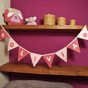 Personalised Baby Bunting - baby's room