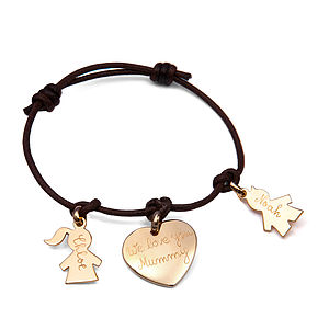 Mother's Personalised Charm Bracelet - last-minute mother's day gifts