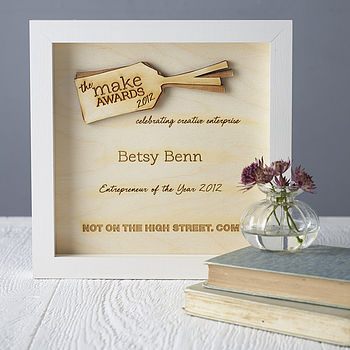 Personalised Wooden Award