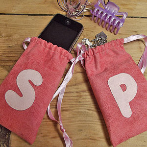Personalised Initial Letter Gift Bags - wedding favours