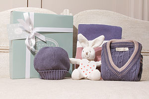 Baby's Knitted Gift Box