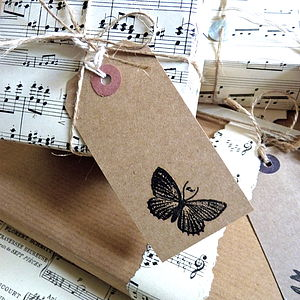 Original Vintage Sheet Music For Wrapping