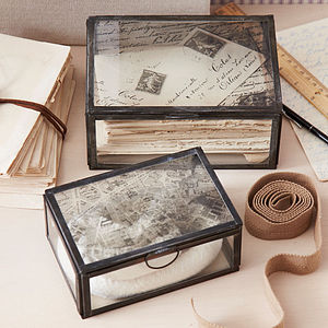 Paris Storage Box - jewellery storage & trinket boxes