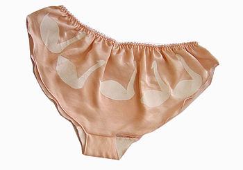 Silk And Bamboo Swan Cami Knickers