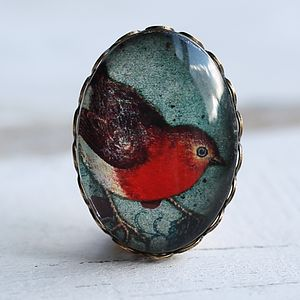 Robin Brooch - pins & brooches