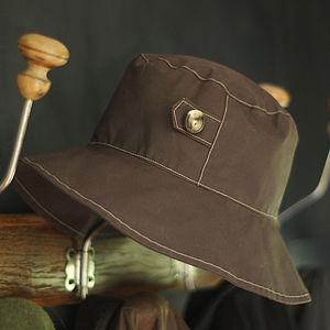 Wax Rain Hat