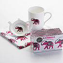 Pink Ceylon Tea Time Gift Set