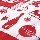 Airfix Christmas Tea Towel