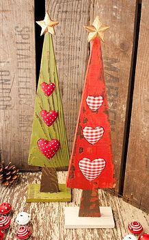 Wooden Nordic Table Top Christmas Tree