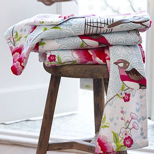 Birds Of Paradise Bath Towels By PiP Studio