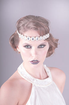 Alexandria Pearl And Rhinestone Headband