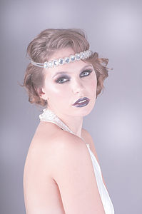 Edna Crystal Headband - hats, hairpieces & hair clips