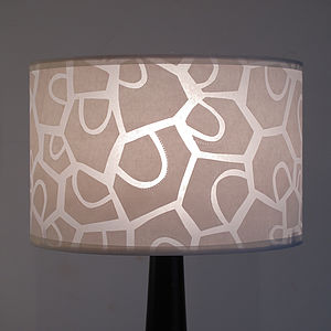 Patchwork Petal Table Lamp - table & floor lamps