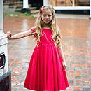 Red Charlotte Party Dress