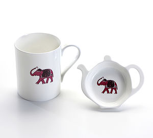 Elephant Tea Time Gift Set