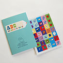 ABC Turquoise Book & Stickers