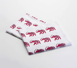 Elephant Tea Towel Gift Set