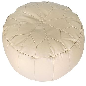 Morroccan Star Pouffe Easy Clean Faux Leather