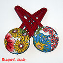 Liberty Fabric Hair Clips