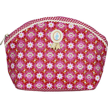 PiP Studio Large Cosmetic bag red