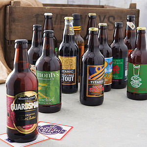 Three Month Beer Crate Subscription - gifts for him