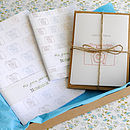 Vintage Camera Stationery Gift Set
