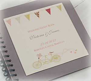 Made For Two Personalised Guest Book - albums & guest books