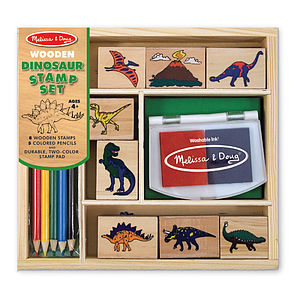 Boys Dinosaur Or Transport Stamp Sets