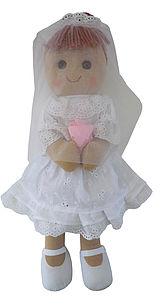 Bride Rag Doll - soft toys & dolls