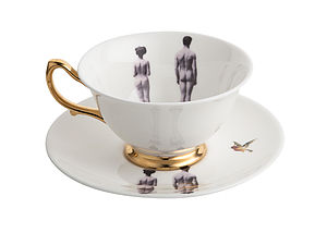 The Models Teacup And Saucer - crockery & chinaware