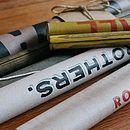 Vintage canvas prints rolled up