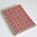 Welsh Blanket Note Book