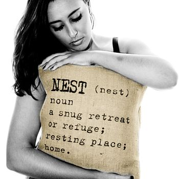 'Nest' Definition Cushion Cover
