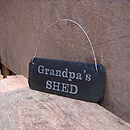 Grandpa's Shed Sign