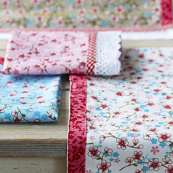 Cherry Blossom Tea Towel By PiP Studio