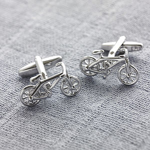Bicycle Cufflinks - sports fan