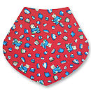 Christmas Red Dribble Bibs Gift Set