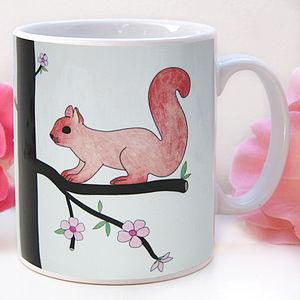 Playful Squirrel Mug - mugs