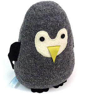 Lavender Penguin Doorstop Or Chick - decorative accessories